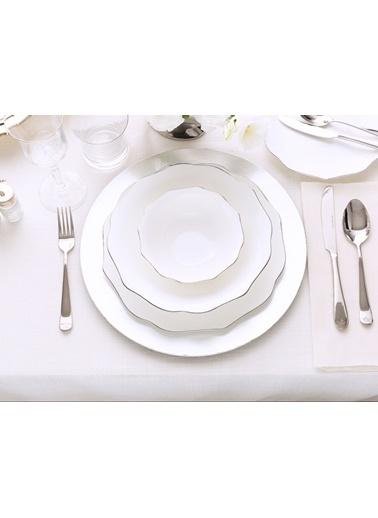 Madame Coco Eliza 16 Parça Yemek Takımı-Platin Gümüş